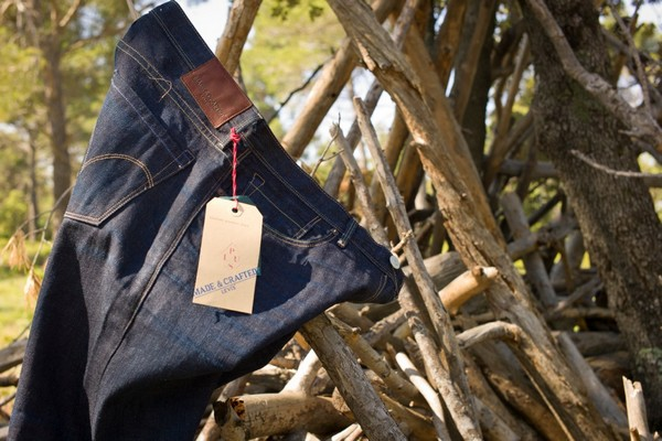 bcf857e5 Levis Made & Crafted Limited Edition For PLUS Tack Slim Selvedge & Shyler |  Viacomit