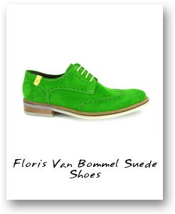 Floris Van Bommel Suede Shoes