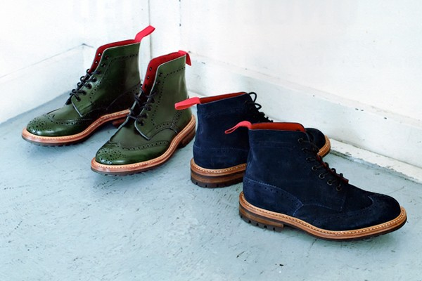 A Bathing Ape x Tricker's Derby Stow Boot Automne/Hiver 2012