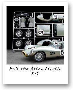 Full size Aston Martin kit