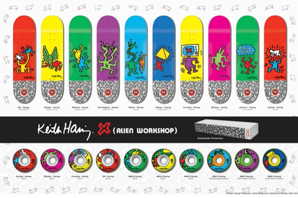 keith-haring-x-alien-workshop-skateboard-collection-01
