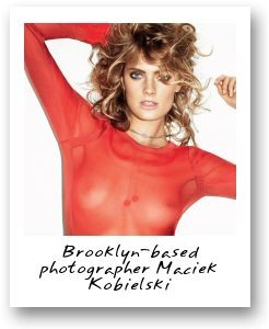 Brooklyn-based photographer Maciek Kobielski