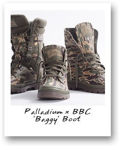 Palladium x BBC 'Baggy' Boot