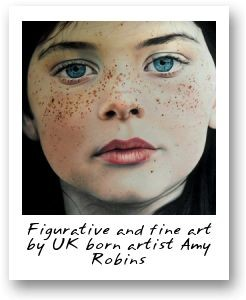 Figurative and fine art by UK born artist Amy Robins