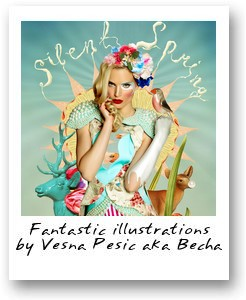Iillustrations by Vesna Pesic aka Becha