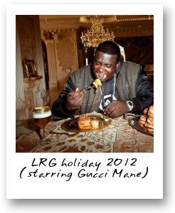 LRG holiday 2012 (starring Gucci Mane)
