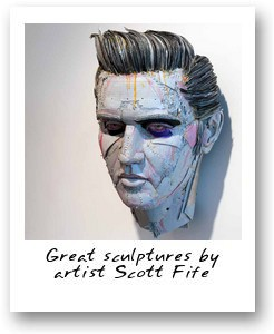 sculptures by artist Scott Fife