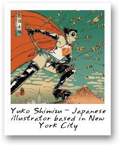 Yuko Shimizu illustrator