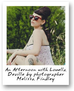 An Afternoon with Louella Deville by photographer Melissa Findley