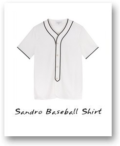 Sandro Baseball Shirt
