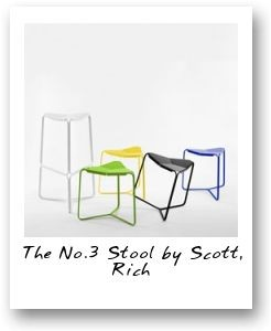 The No.3 Stool by Scott, Rich & Victoria for COVO