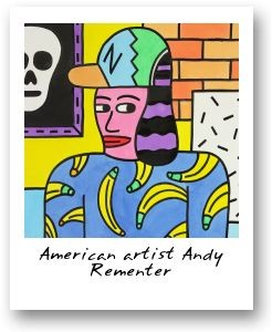 American artist Andy Rementer