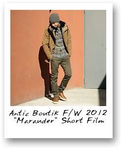 Antic Boutik F/W 2012