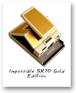 Impossible SX70 Gold Edition