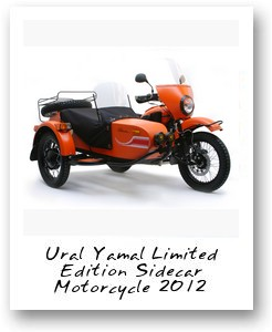 Ural Yamal Limited Edition Sidecar Motorcycle 2012