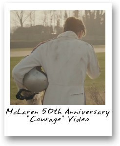 McLaren 50th Anniversary 'Courage' Video