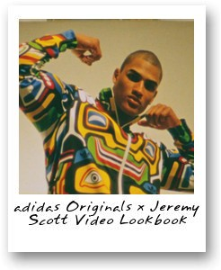 adidas Originals x Jeremy Scott Video Lookbook