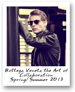 Bottega Veneta the Art of Collaboration Spring/Summer 2013