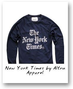 New York Times by Altru Apparel