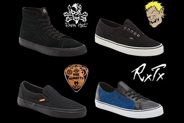 chaussure vans metallica