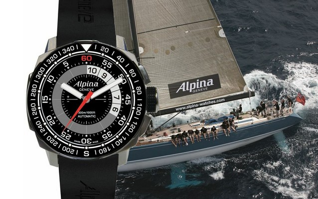 Alpina Sailing Yachttimer Countdown Watch