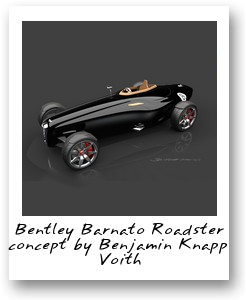 Bentley Barnato Roadster concept by Benjamin Knapp Voith