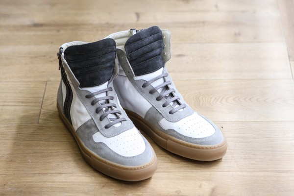 "National Standard x BonneGueule ""BGNS-01"" High Top Sneakers"