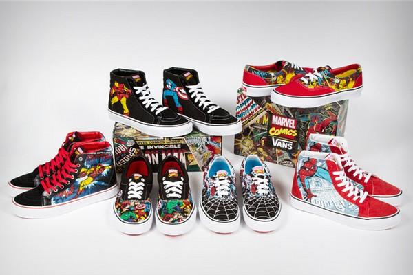 Pour le plus grand plaisir des fans de bandes dessinées, Vans propose une nouvelle collaboration originale : Vans x Marvel. Grâce à cette collaboration avec