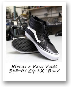 Blends x Vans Vault Sk8-Hi Zip LX 'Bone'