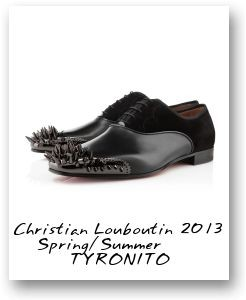 Christian Louboutin 2013 Spring/Summer TYRONITO