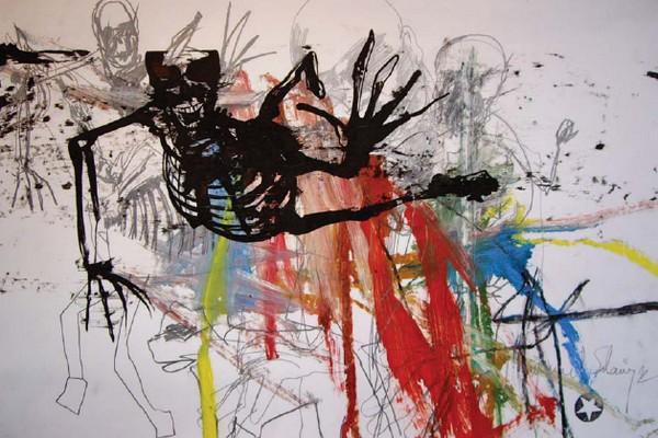 """Gwenaël Salaün """"Extended"""" Exhibition at Gabriel & Gabriel"""