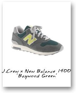 J.Crew x New Balance 1400 'Baywood Green'