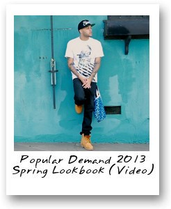 Popular Demand 2013 Spring Lookbook