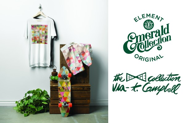 Thomas Campbell x Element Emerald Collection