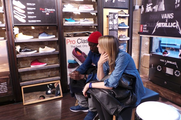 vans boutique paris