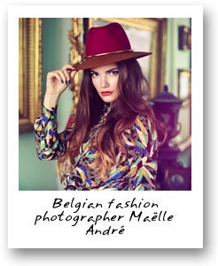 Belgian fashion photographer Maëlle André