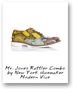 Mr. Jones Rattler Combo by New York shoemaker Modern Vice