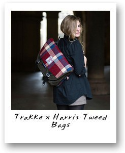 Trakke x Harris Tweed Bags