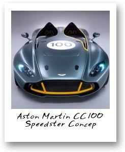 Aston Martin CC100 Speedster Concep