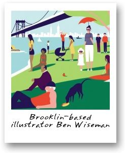 Brooklin-based illustrator Ben Wiseman