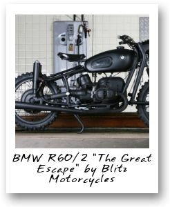BMW R60/2 The Great Escape by Blitz Motorcycles