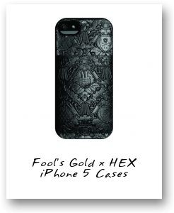 Fool's Gold x HEX iPhone 5 Cases
