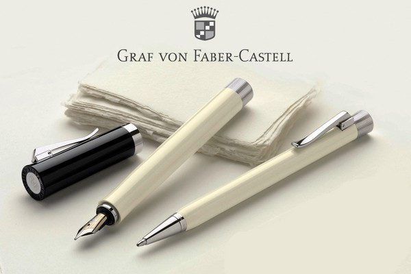 graf von faber castell intuition ivory collection. Black Bedroom Furniture Sets. Home Design Ideas