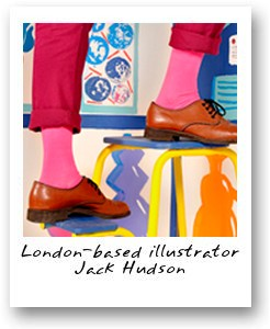 London-based illustrator Jack Hudson
