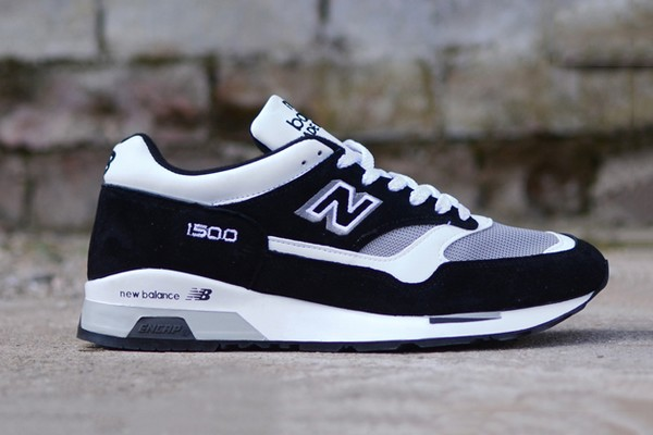 new balance 1500 made in england – black / grey – red