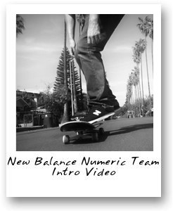 New Balance Numeric Team Intro Video