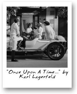 'Once Upon A Time...' by Karl Lagerfeld