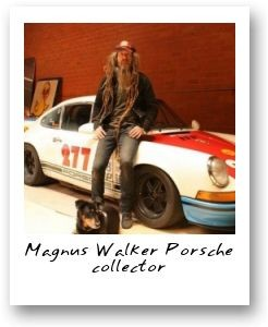 Magnus Walker Porsche collector
