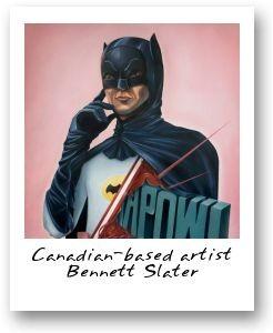Canadian-based artist Bennett Slater