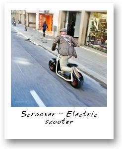 Scrooser - Electric scooter